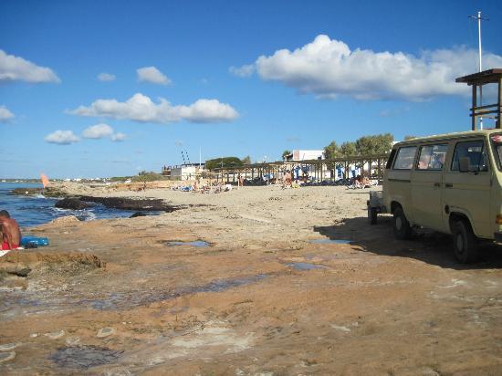 Foto playa Migjorn.