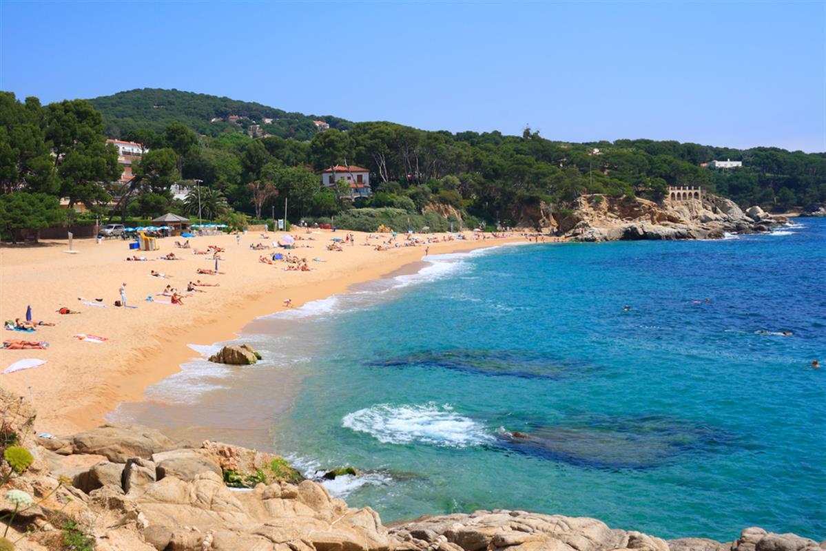 Foto playa Cala Leño.