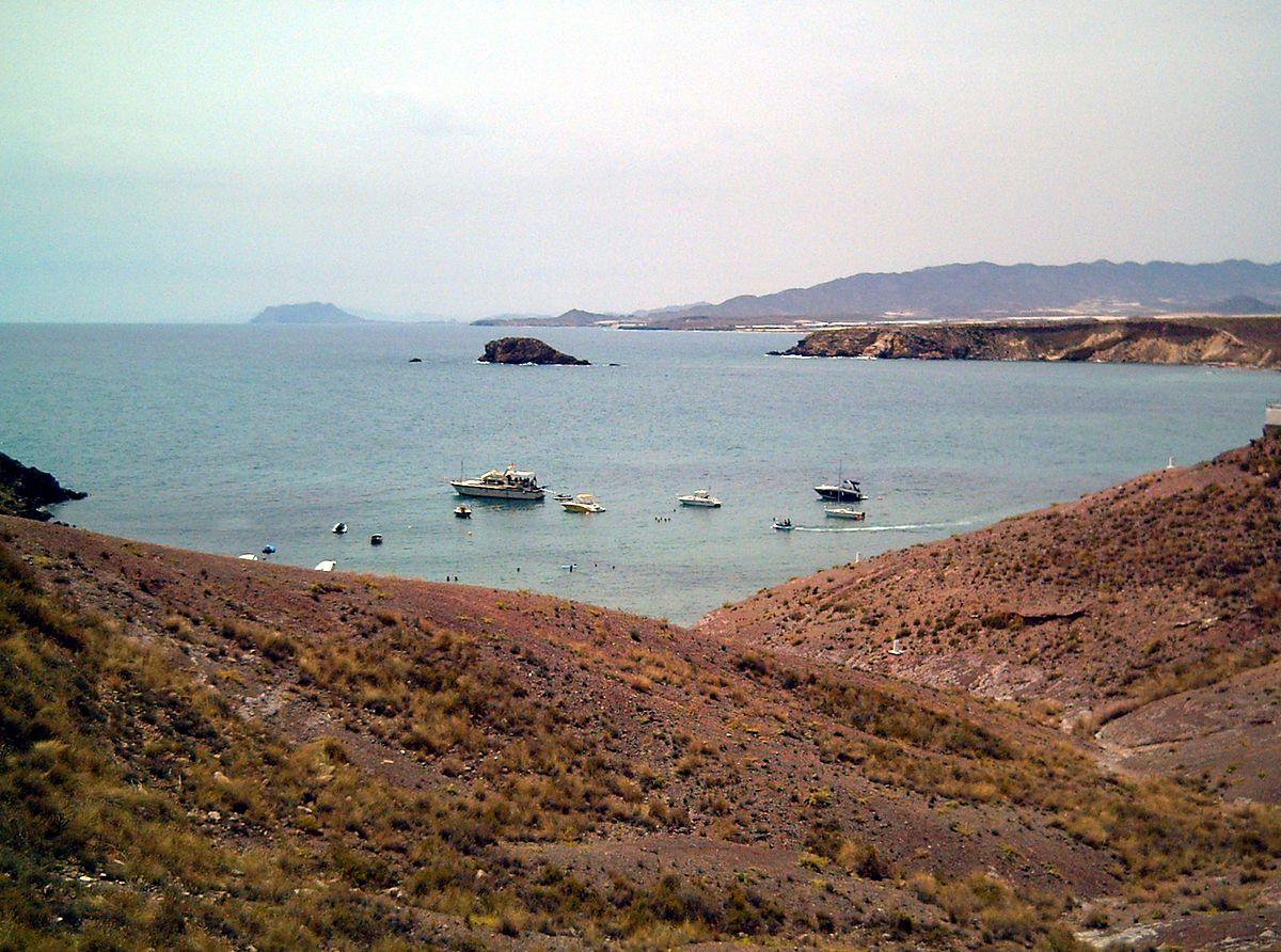 Foto playa Cueva de los Lobos.