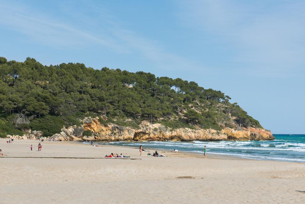 Foto playa La Morena.