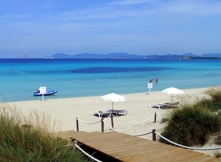 Foto playa Caló de S´Olí.