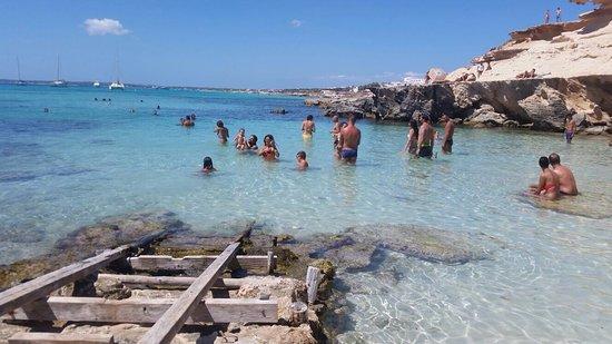 Foto playa Caló d´en Trull.