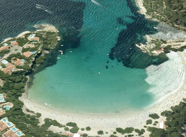 Foto playa Caló d´es Moro.