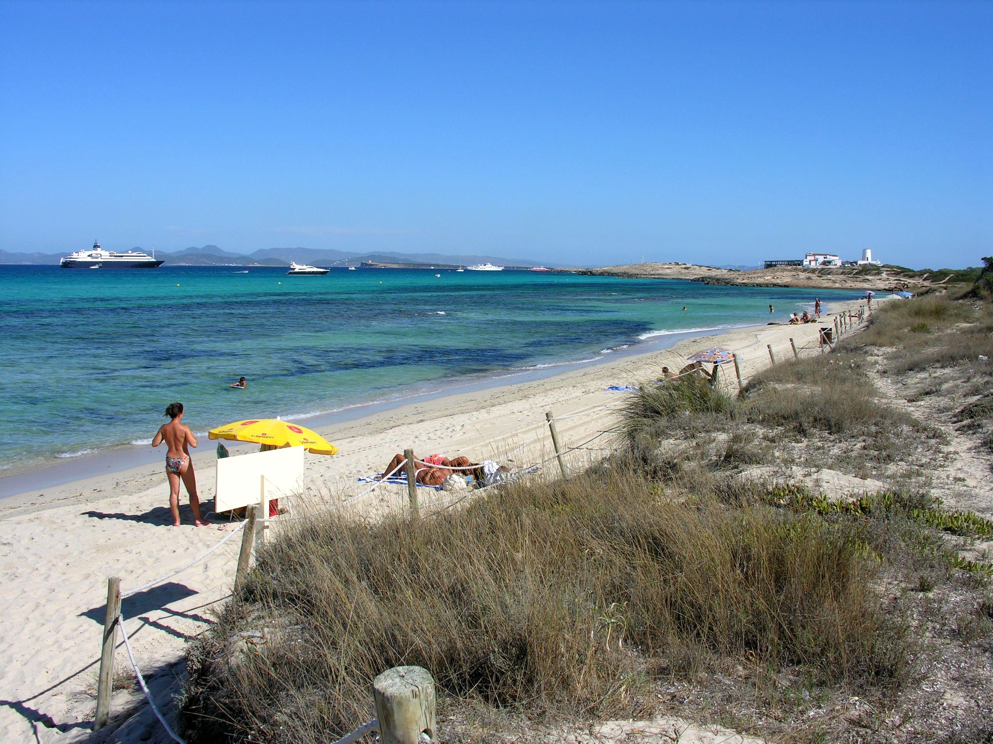 Playa Cavall d´en Borràs