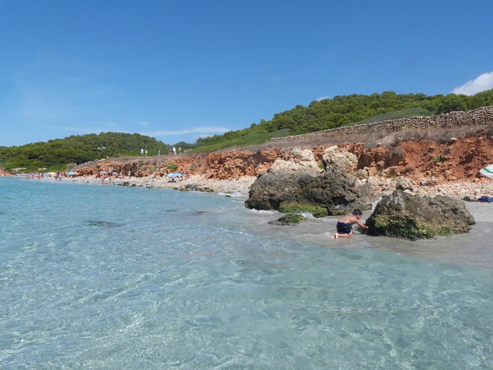 Foto playa Binigaus.