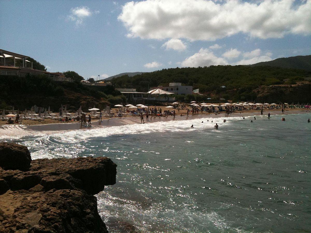 Playa Cala de S´Aigua Blanca