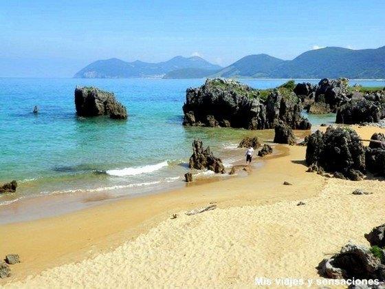 Foto playa Cala de S´Aigua Blanca.