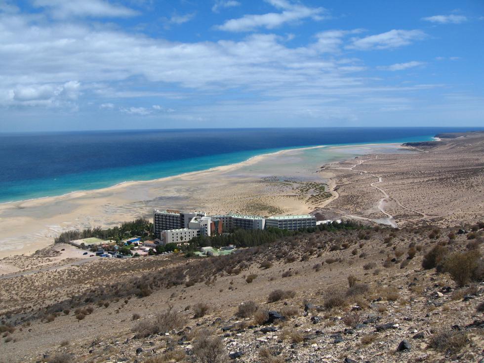 Foto playa Sotavento.
