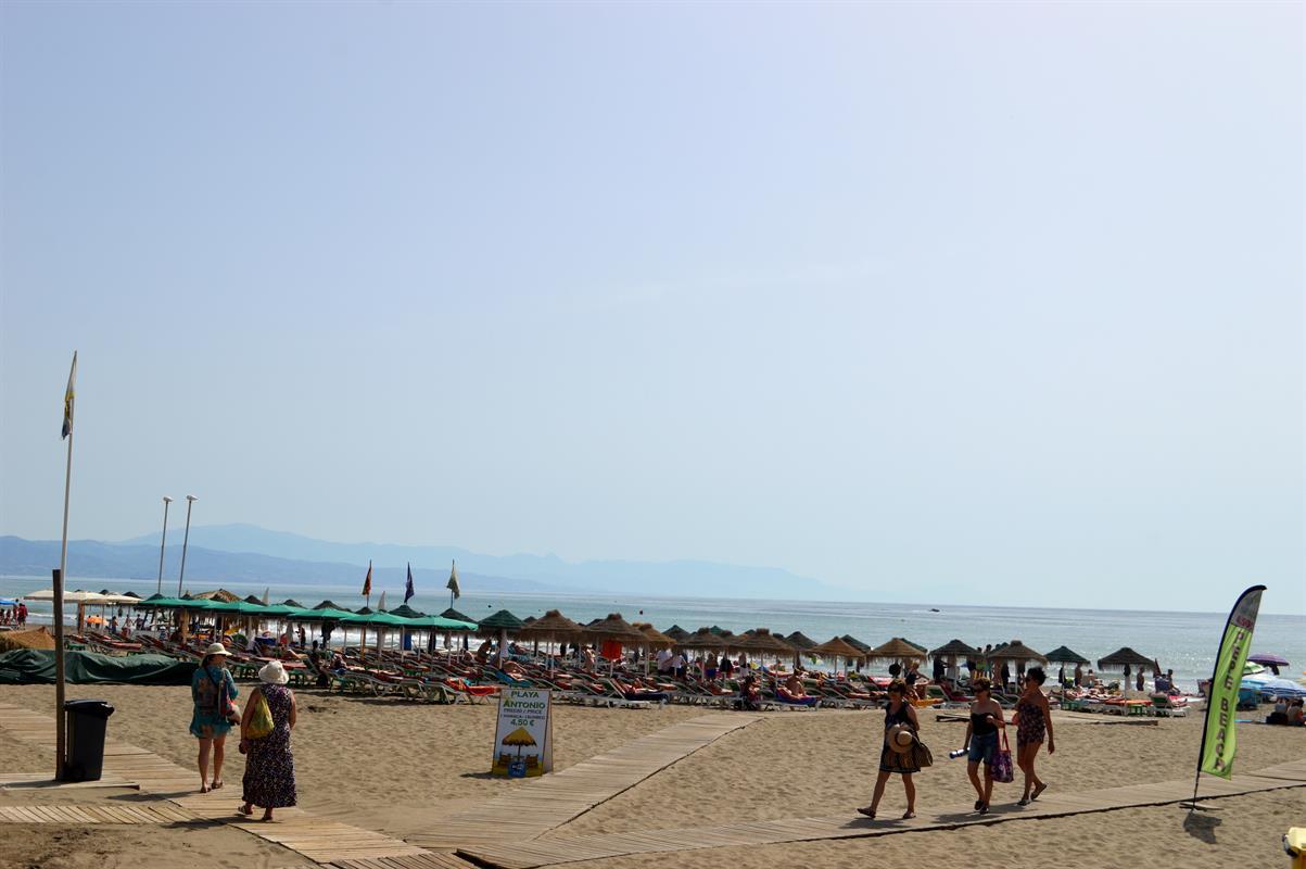 Foto playa La Fuente.