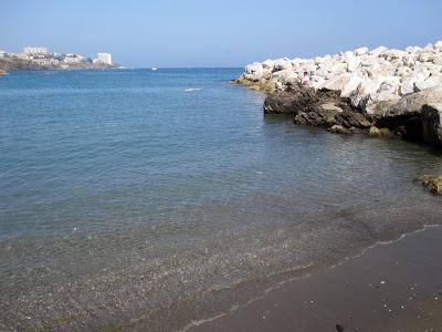 Foto playa Caletón de los Cangrejos.