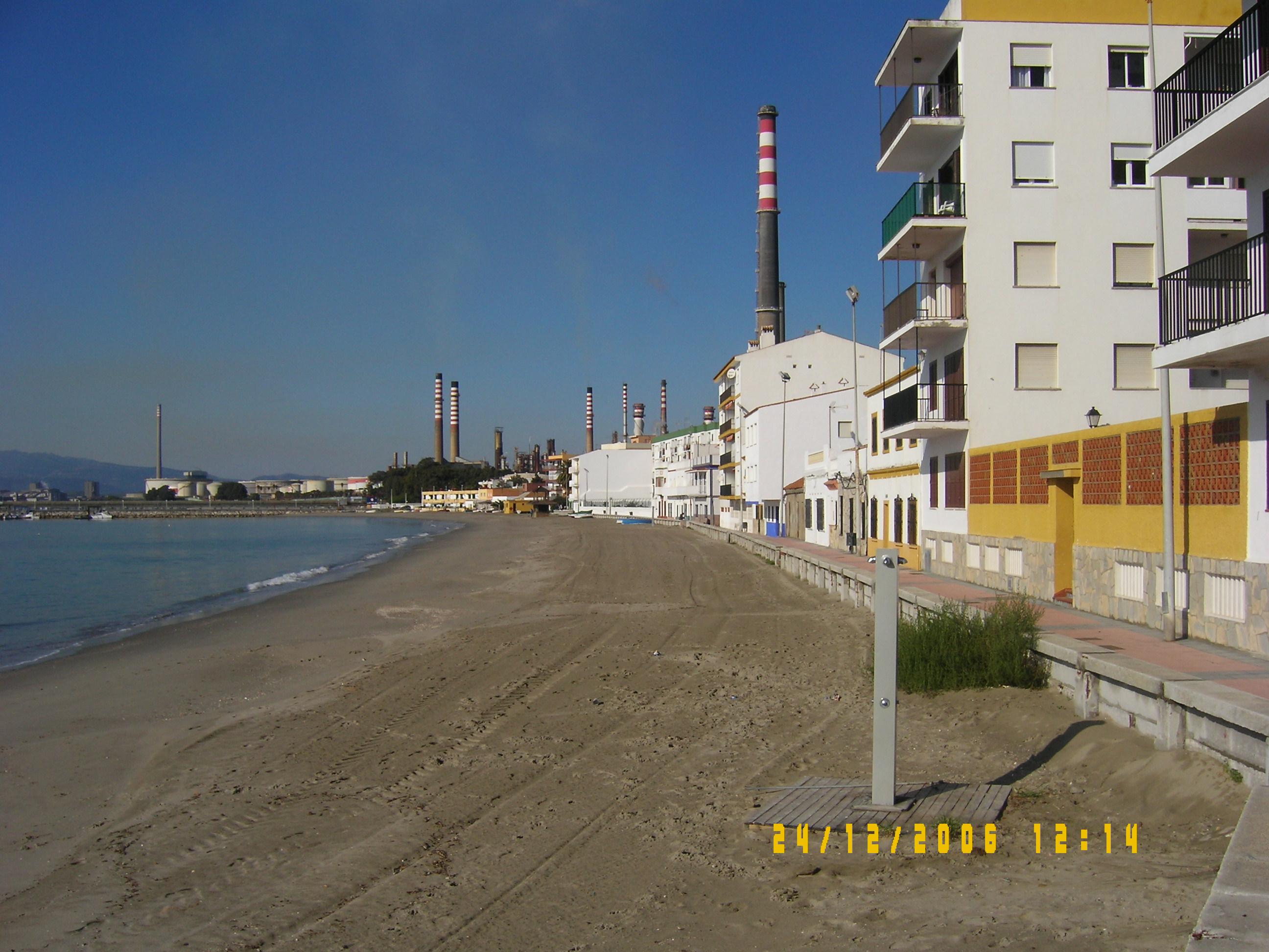 Foto playa Campamento / Puente Mayorga. La playa de Puente Mayorga