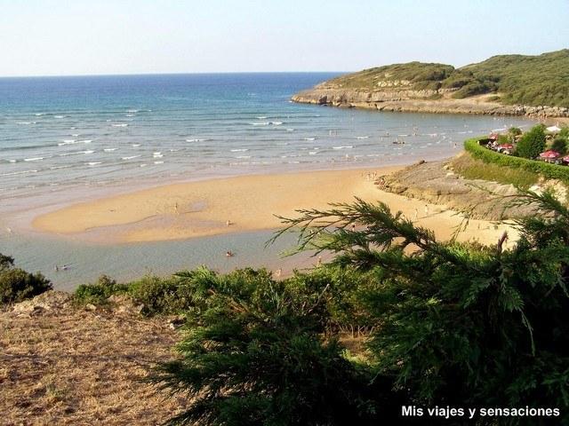 Foto playa Las Malvas.