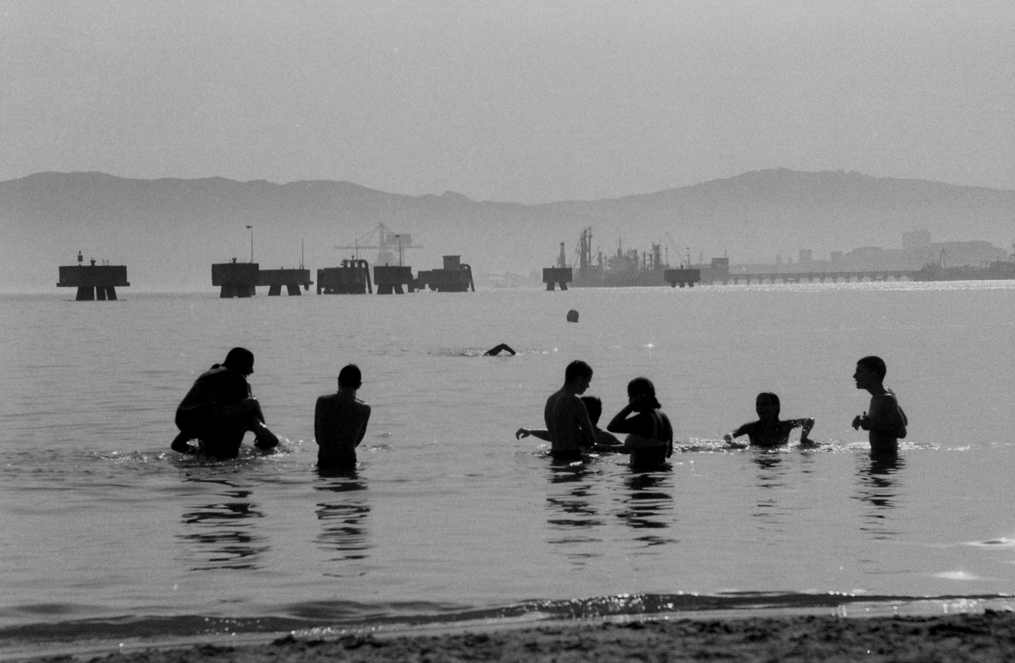 Foto playa Campamento / Puente Mayorga.