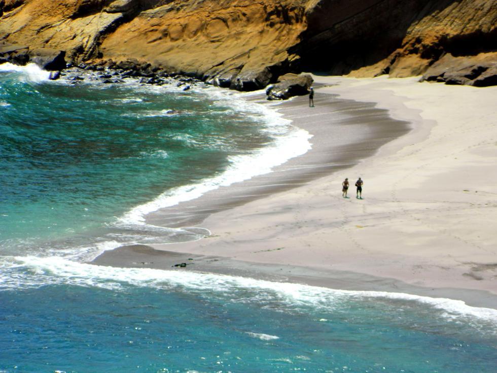 Foto playa Los Frailes.