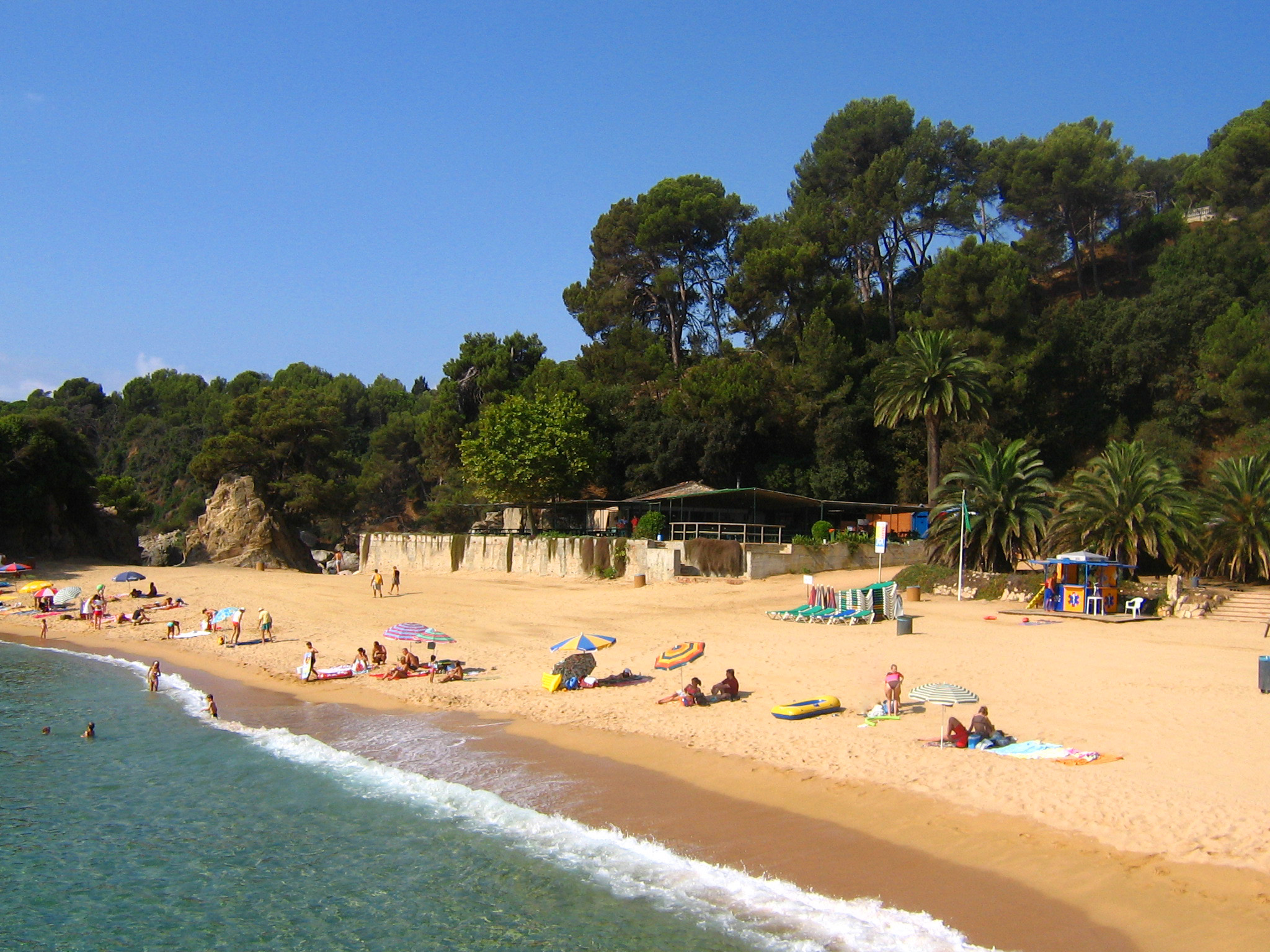 Playas en  Costa Brava