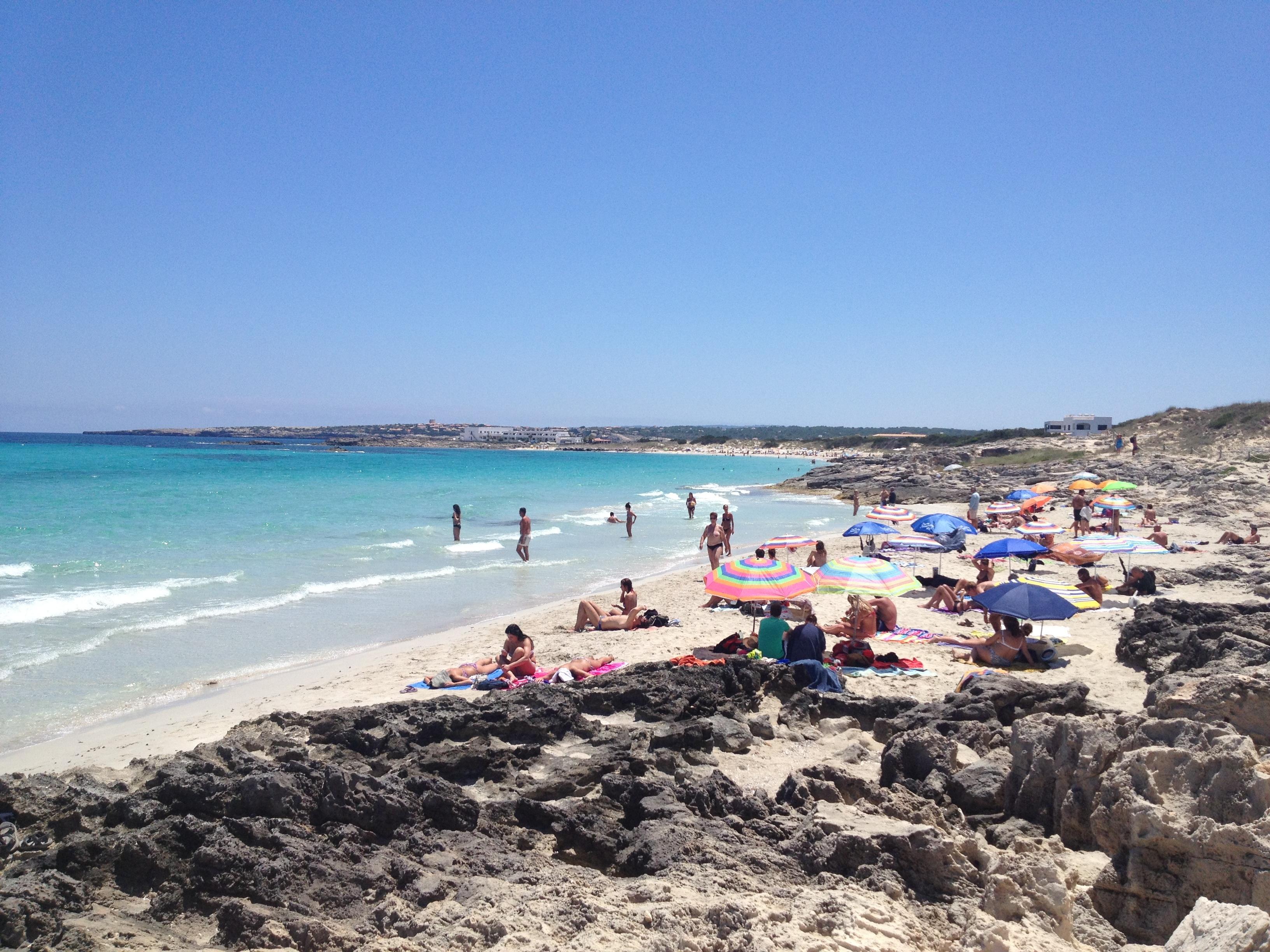 Playas en Islas Baleares / Isla de Formentera