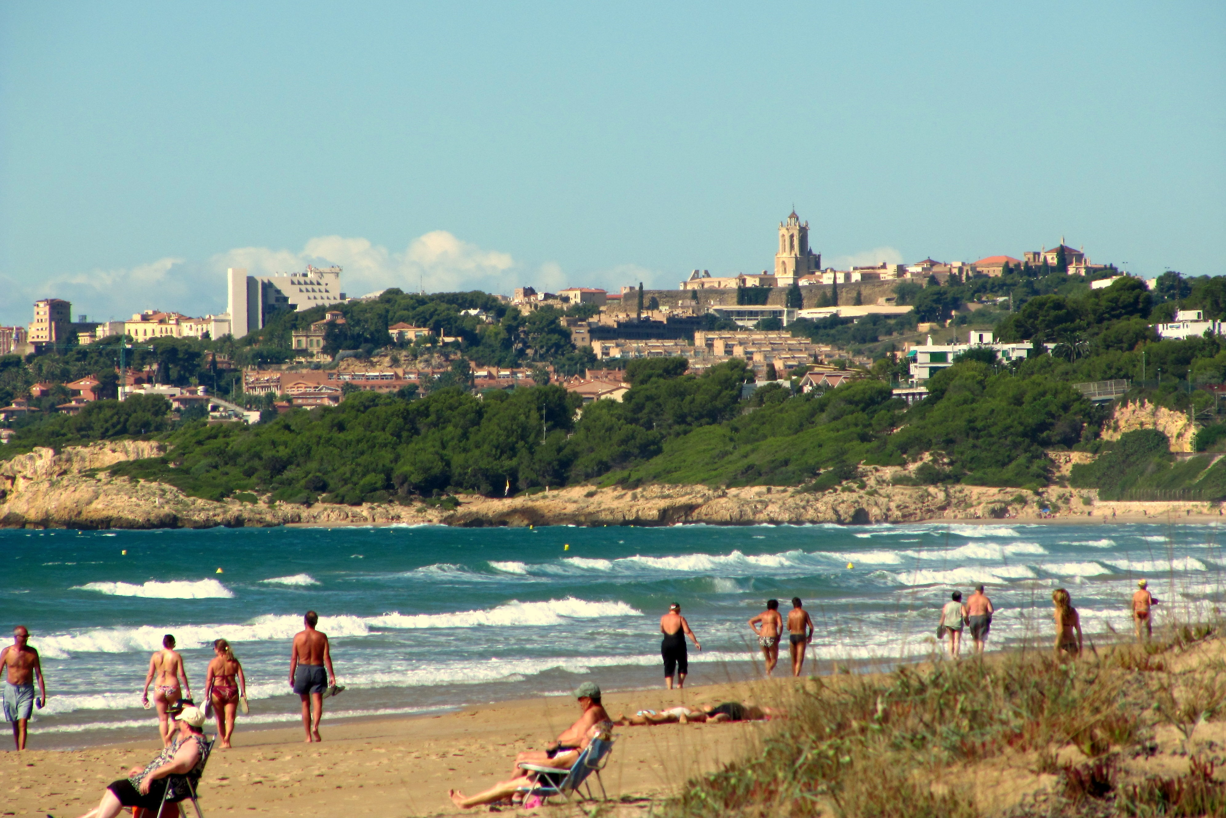 Playas en Tarragona