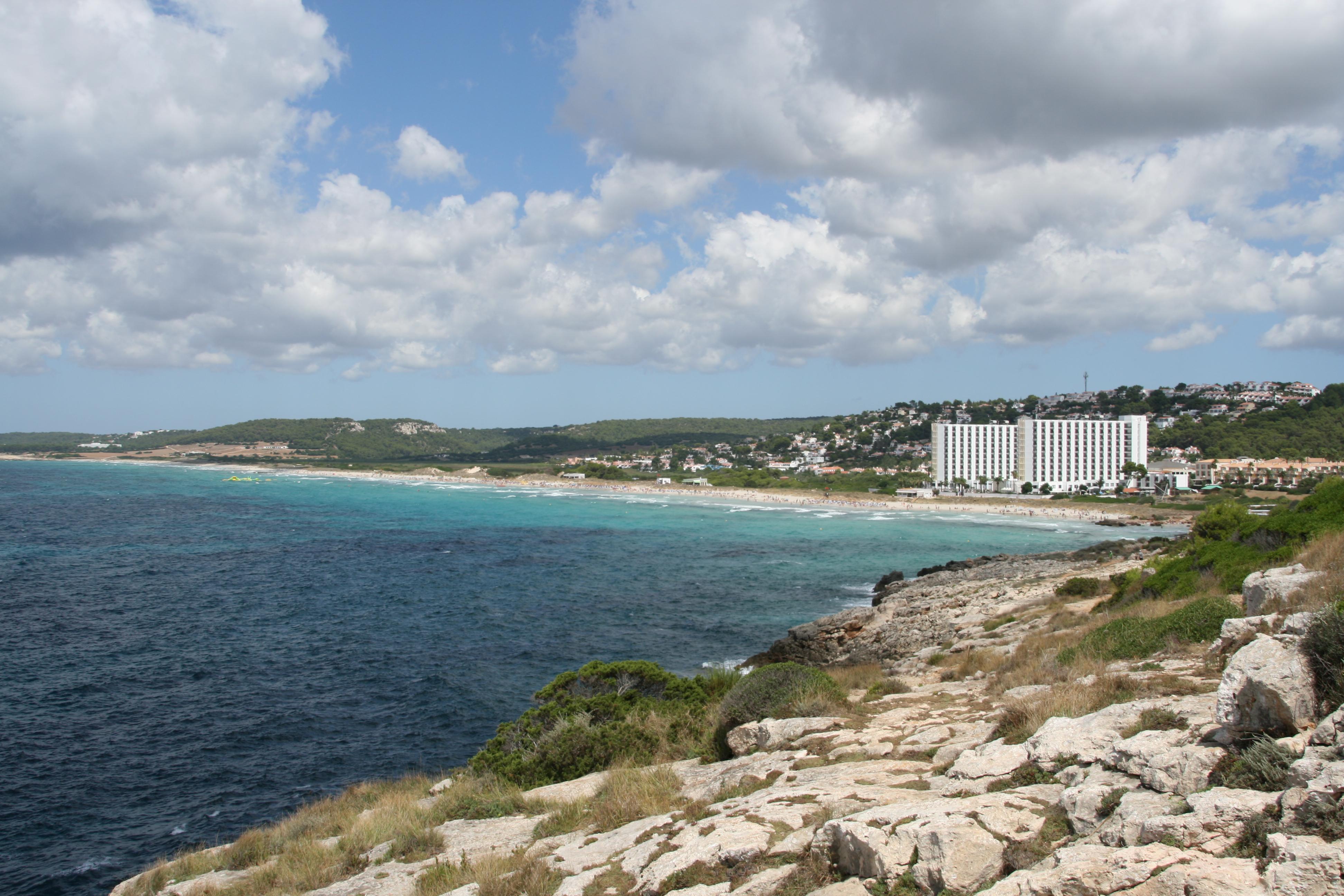 Playas en Islas Baleares / Isla de Menorca