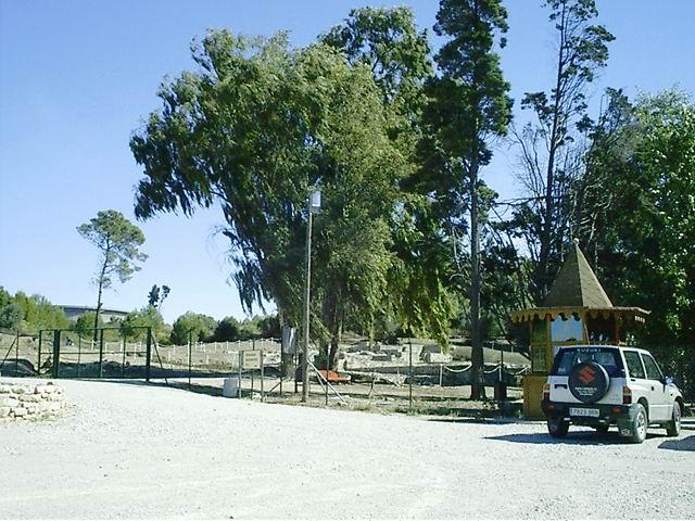 Foto playa Guadarranque. Ciudad Romana