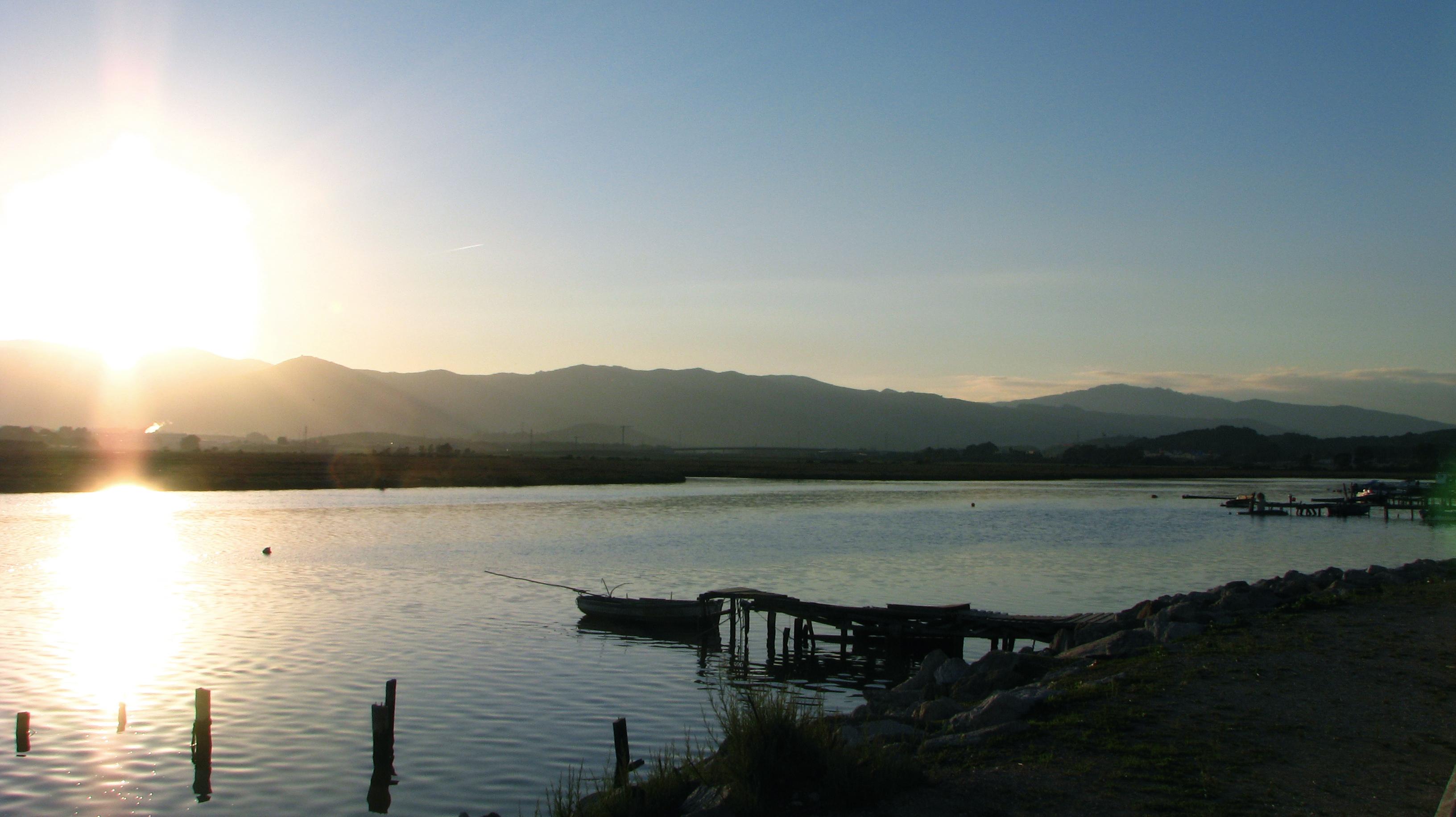 Foto playa Palmones. Parque natural del Río Palmones