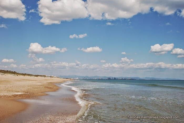 Foto playa El Dormidero.