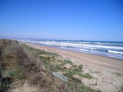 Foto playa El Bajo Negro.