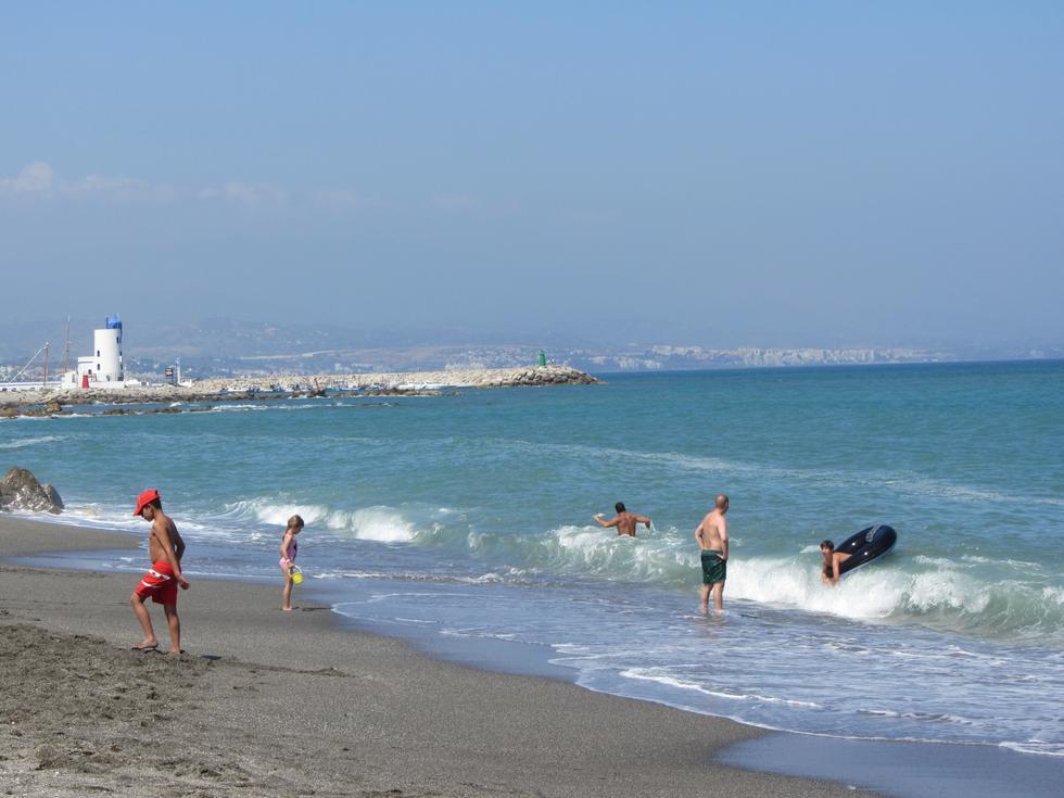 Foto playa El Castillo.