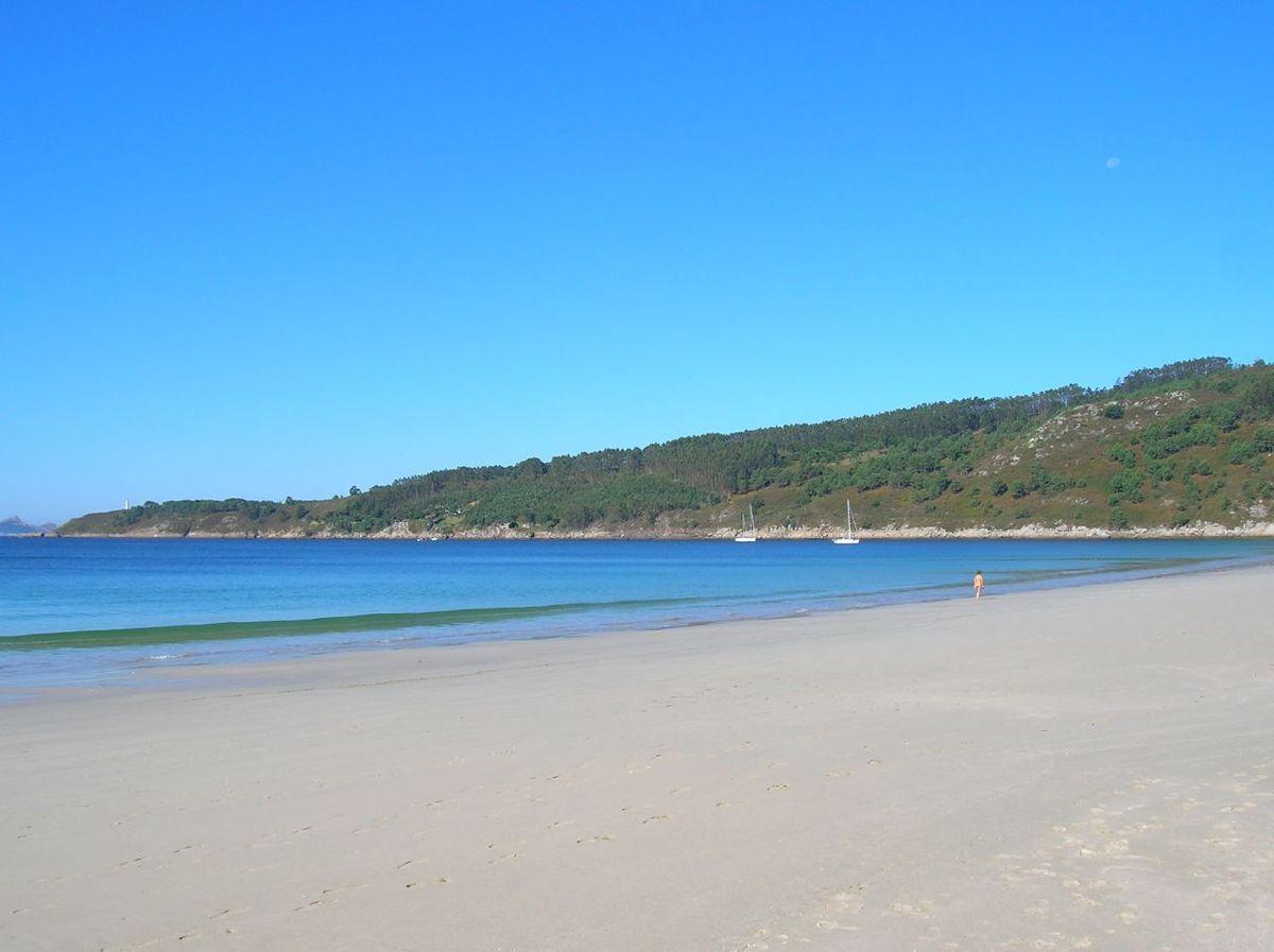 Foto playa La Barra.