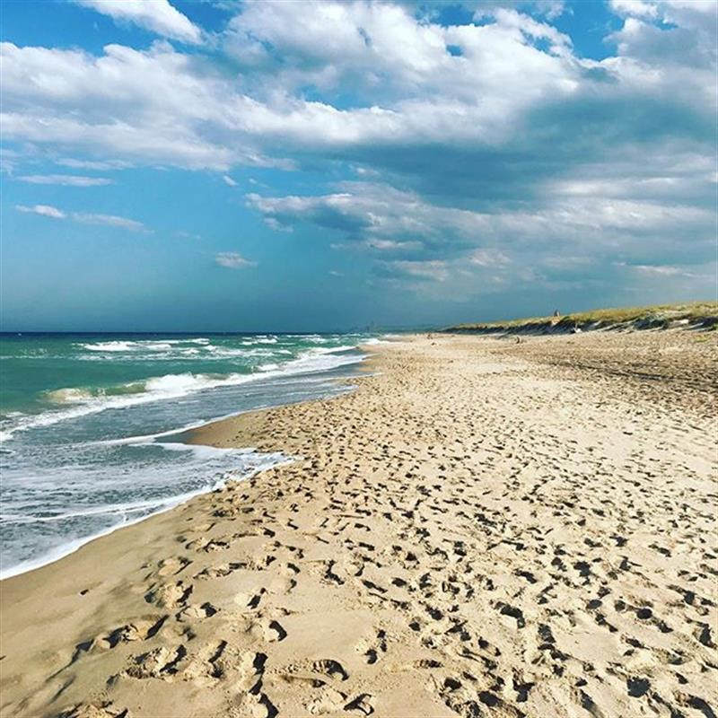 Foto playa Los Charcos II.