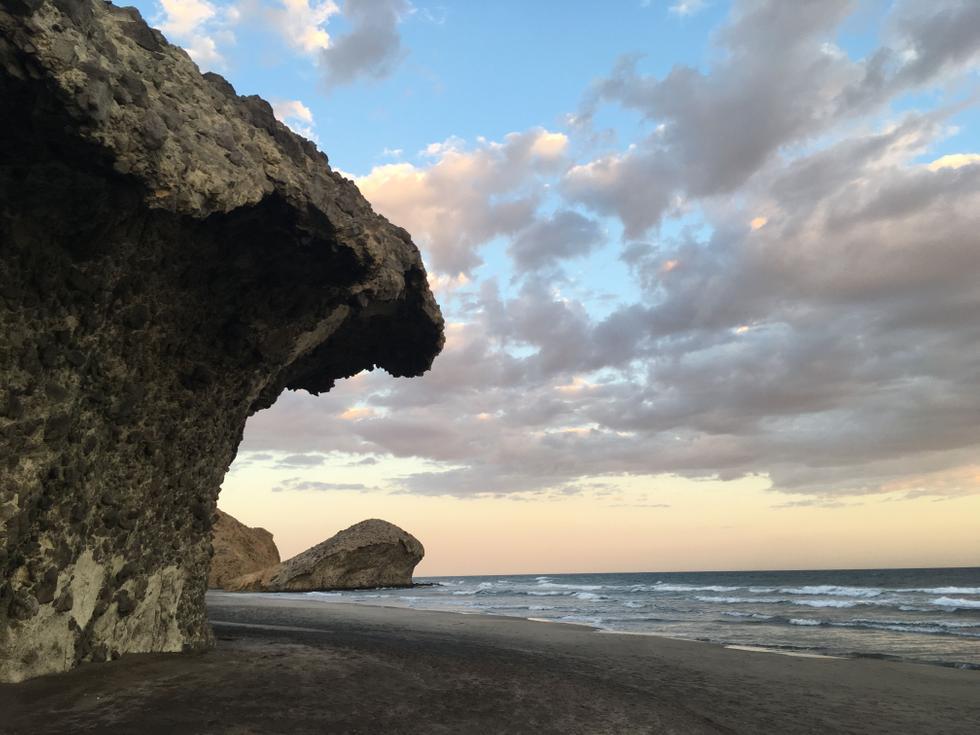 Foto playa Morro de Potala.
