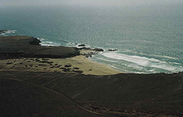 Foto playa Janubio / Jarugo.