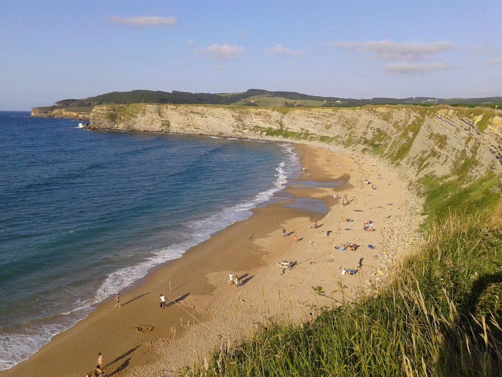 Foto playa El Molinero.