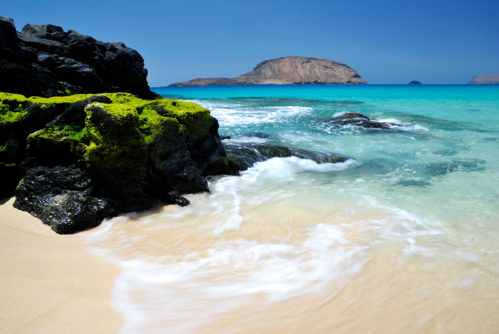 Foto playa Las Conchas.