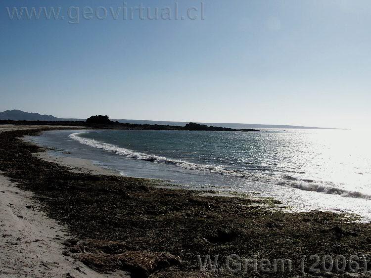 Foto playa El Salado / Bahía del Salado.