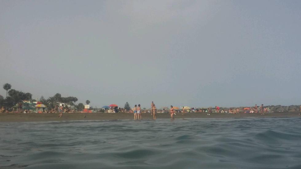 Foto playa Las Palomas.