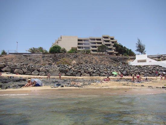 Foto playa El Ancla.
