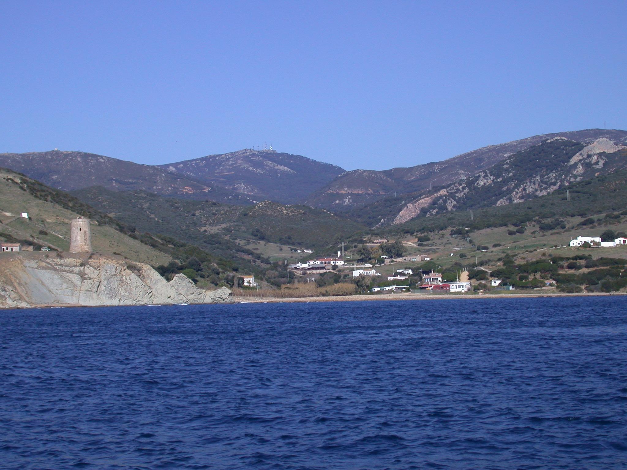 Foto playa Playa Chica. GUADALMESÍ