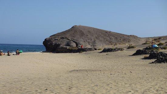 Foto playa Caletón de San Marcial.
