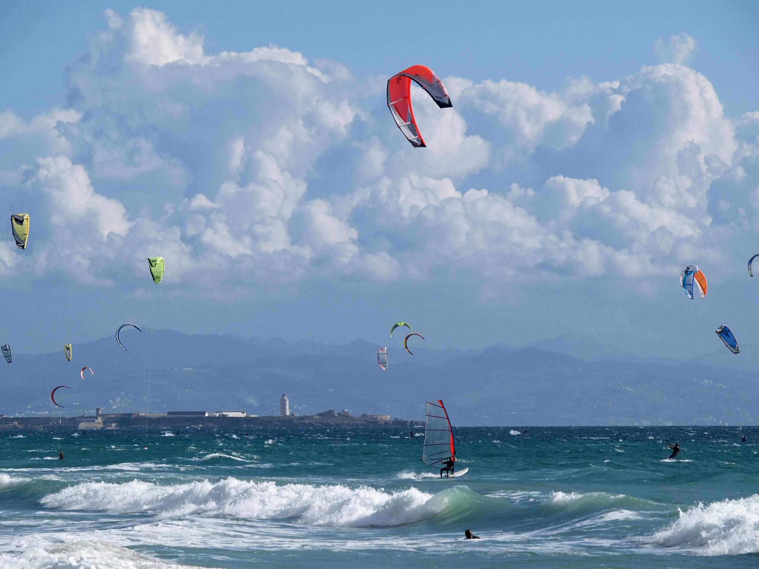 Foto playa Los Lances Sur. Plage de Tarifa
