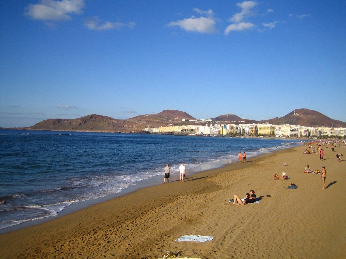 Foto playa El Cohon.