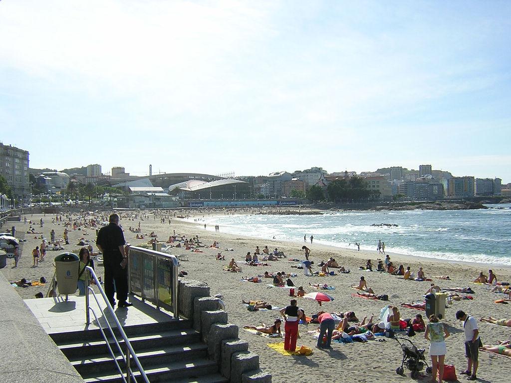 Foto playa El Parrado.