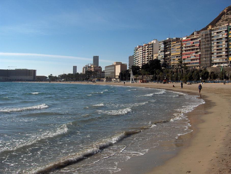 Foto playa Las Monjas.