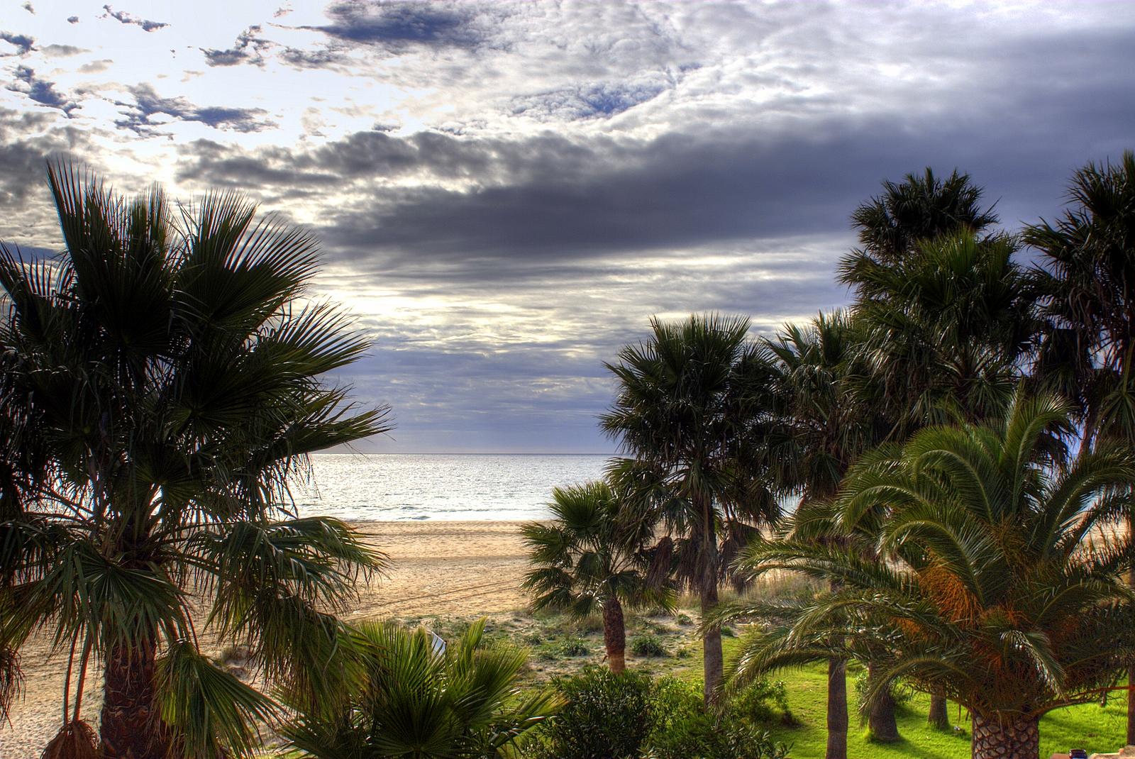 Foto playa Los Lances Norte. Hotel Dos Mares, Tarifa, Cádiz