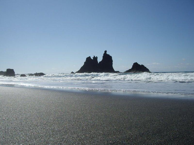 Foto playa La Bruja.