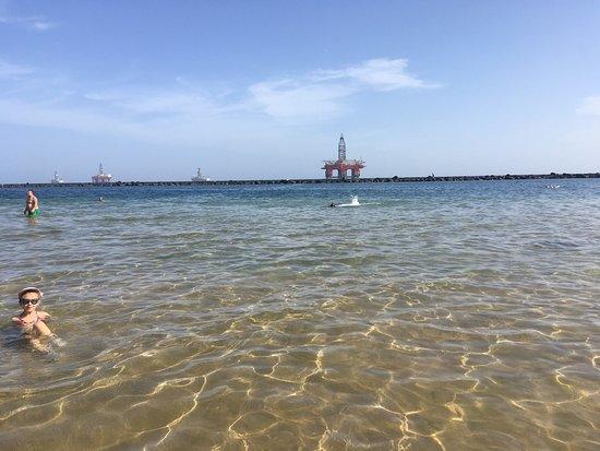 Foto playa Fabián.