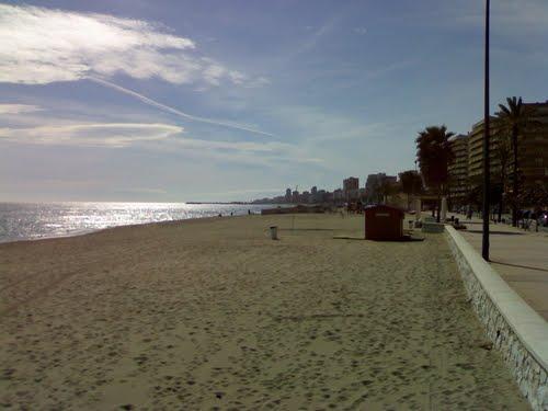 Foto playa Pinomar.