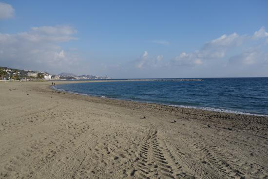 Foto playa La Adelfa.