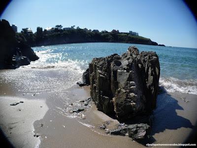 Foto playa La Reburdia / Urbanización Entreplayas.