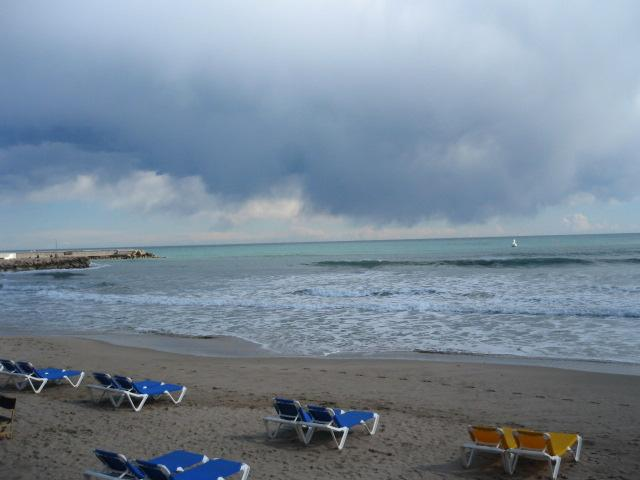 Foto playa La Ribera.