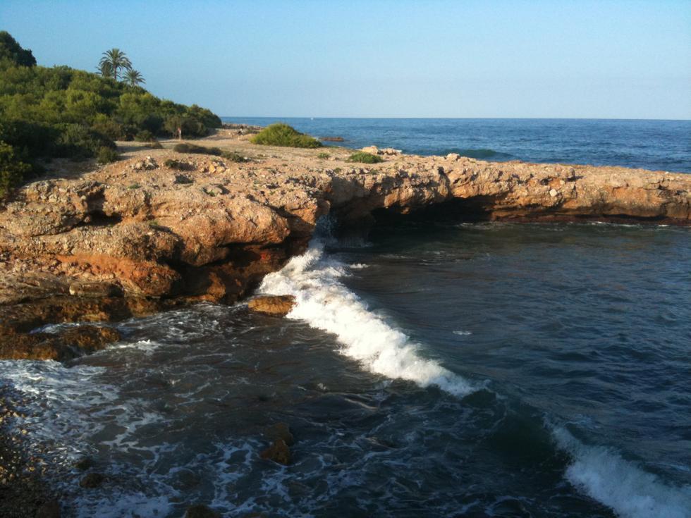 Foto playa Cala del Moro.